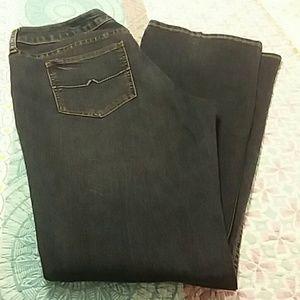 Arizona Jeans Bootcut Size 15 Average